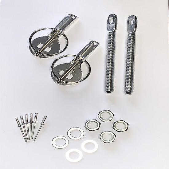 bonnet pins set of 2  stainless steel