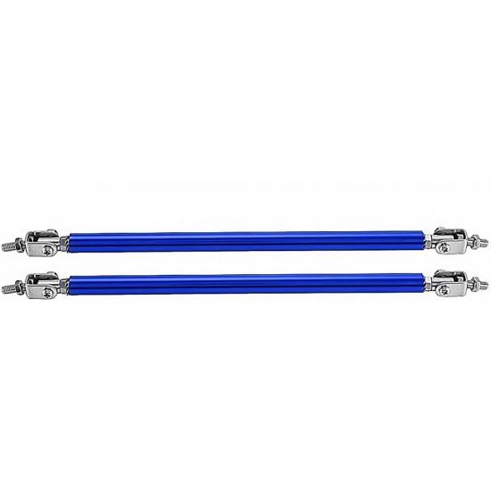 Front Bumper Splitter Lip Adjustable 150mm rod Strut (PACK OF 2)