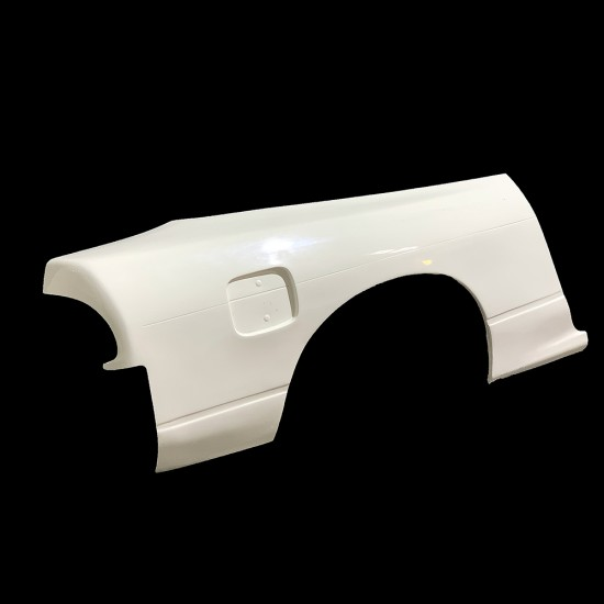S13 180sx Rear Quarters overfenders +50mm wider