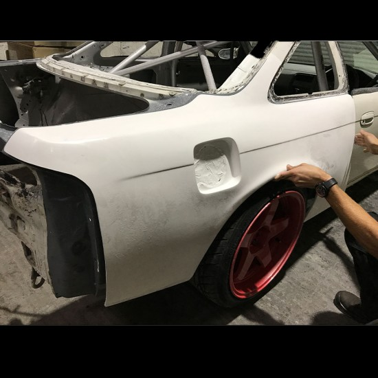 S14 200sx silvia rear quarter panels overfenders +50mm