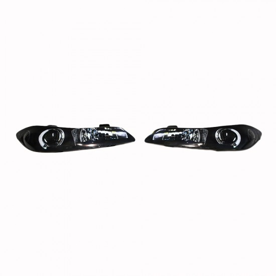 S15 NISSAN SILVIA HEADLIGHT BLANKS WITH 3D STICKERS