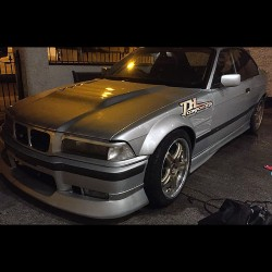 E36 BMW Coupe Fibreglass Front Wings +50mm Wider