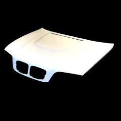 E46 BMW  4door sedan m3 style Fibreglass Bonnet hood