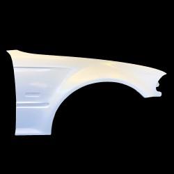 E46 BMW 4door sedan touring m3 style Fibreglass front wings +30mm
