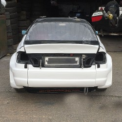 E46 BMW GTR Style Widebody Rear End ONLY