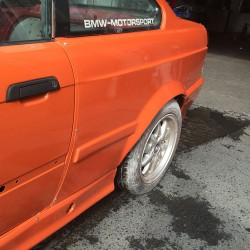 E36 BMW Rear Quarters / Overfenders +50mm