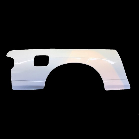 PS13 180sx Rear Quarters overfenders +50mm wider