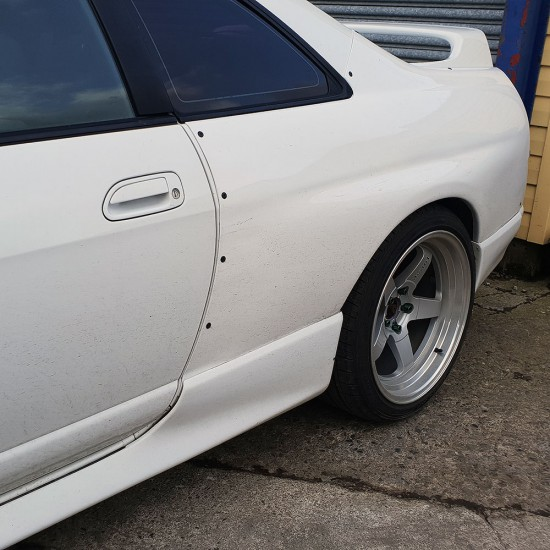 R33 Skyline Rear Quarters Panels Overfenders +50mm